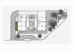 plano geral edifício baía